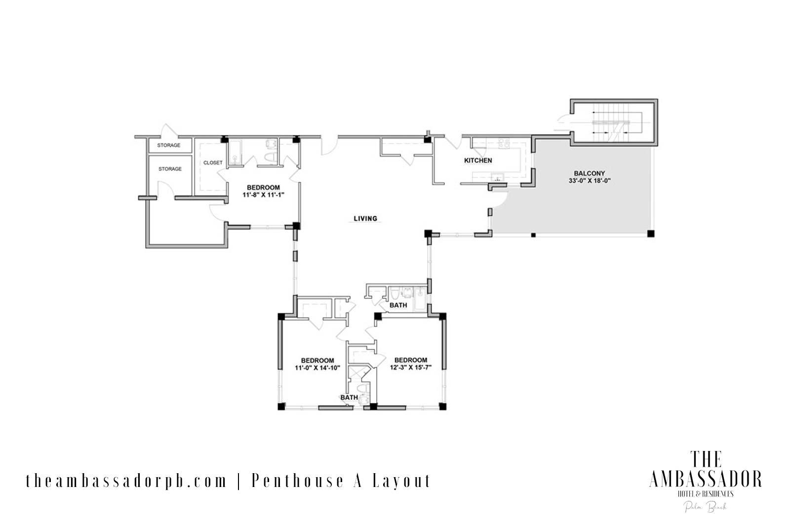 PHA Floorplan