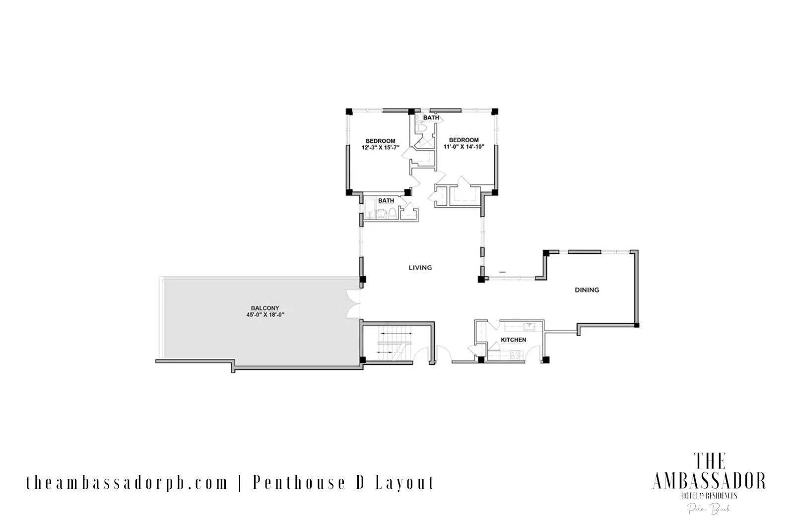PHD Floorplan