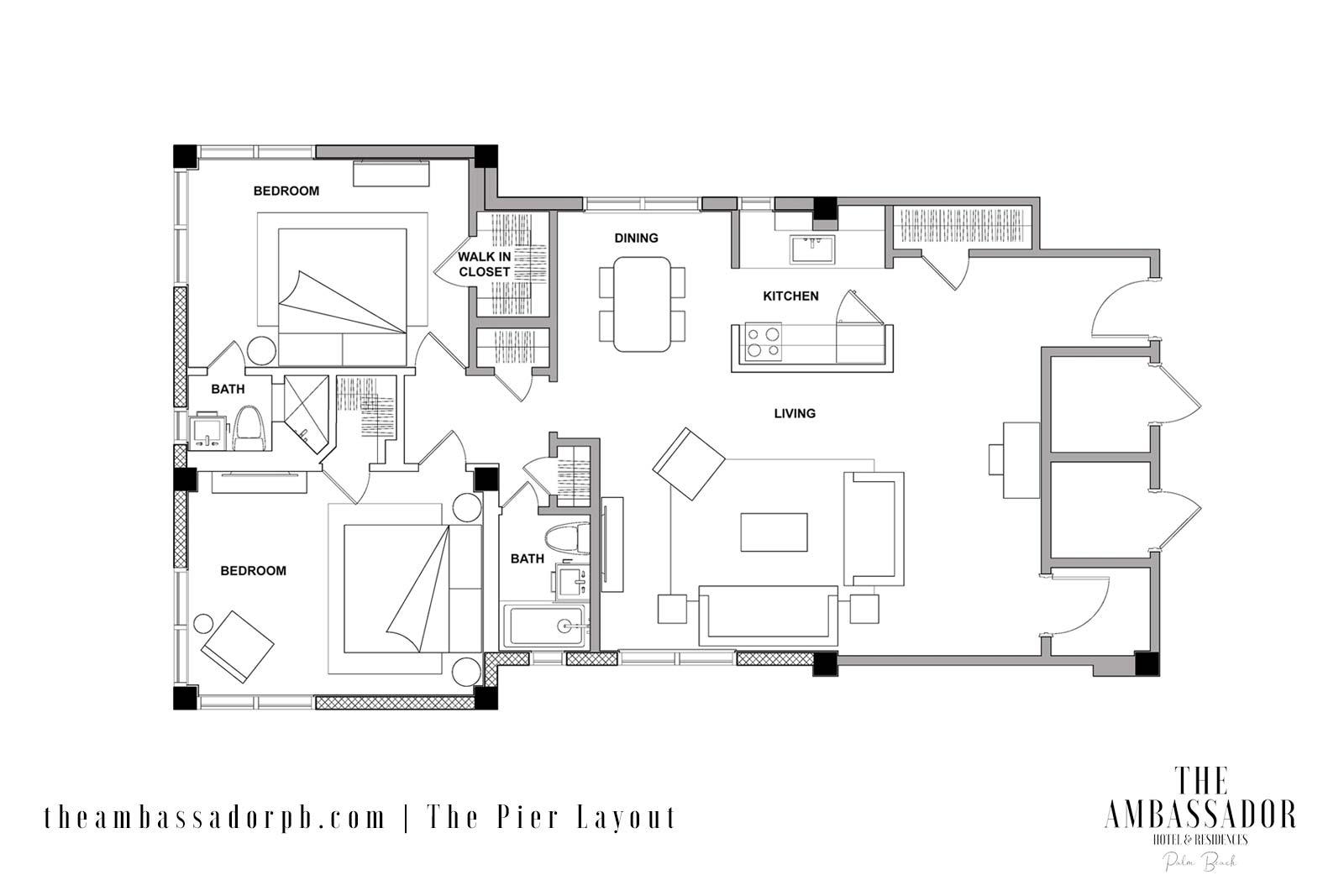 The Pier - Floorplan